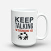 "Limited Edition - ""Diagnosing"" 15oz Mug - Counseling Mugs - Mugdom Coffee Mugs"