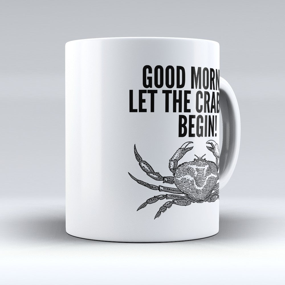 "Limited Edition - ""Crabbing Begin"" 11oz Mug"
