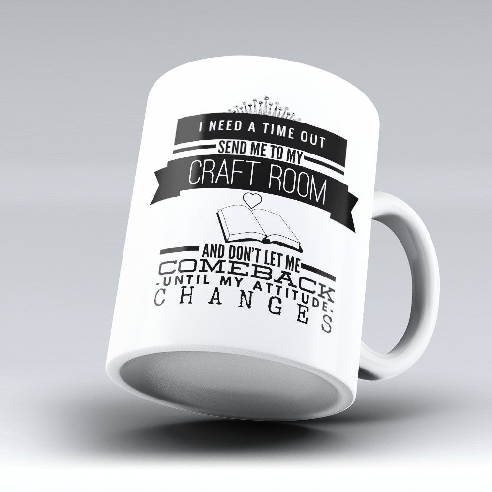 "Limited Edition - ""Craft Room"" 11oz Mug"