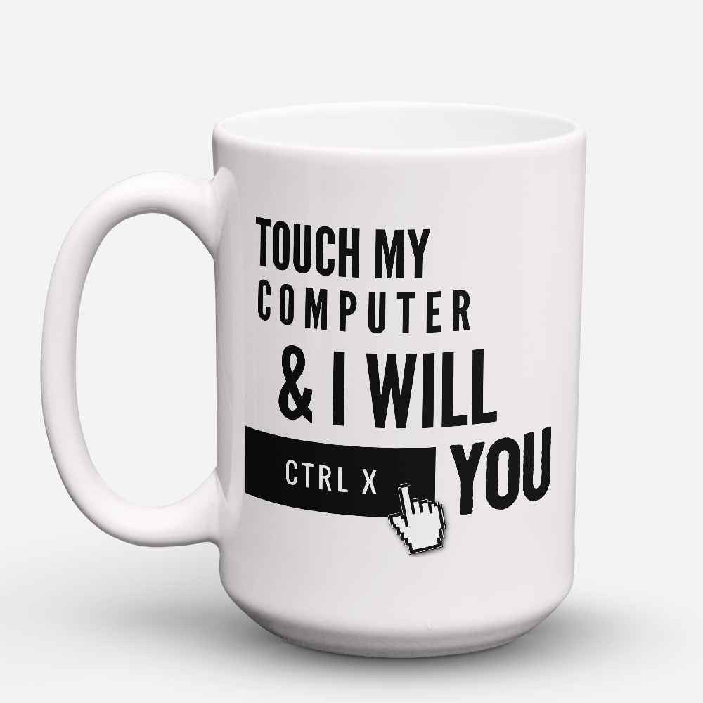 "Limited Edition - ""Ctrl X You"" 15oz Mug - Developer & Programmer Mugs - Mugdom Coffee Mugs"