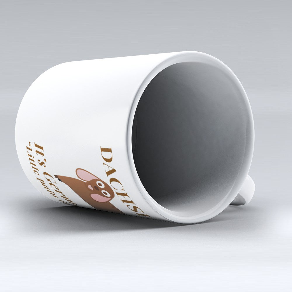 "Limited Edition - ""Dachshund German"" 11oz Mug"