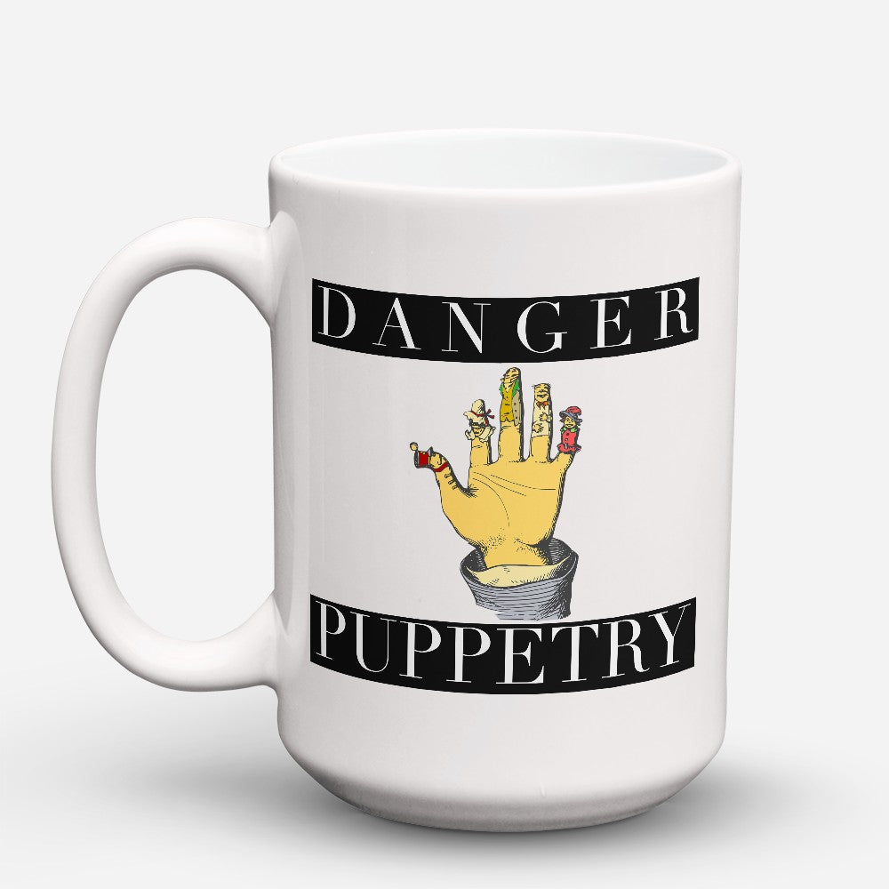 "Limited Edition - ""Danger Puppetry"" 15oz Mug"