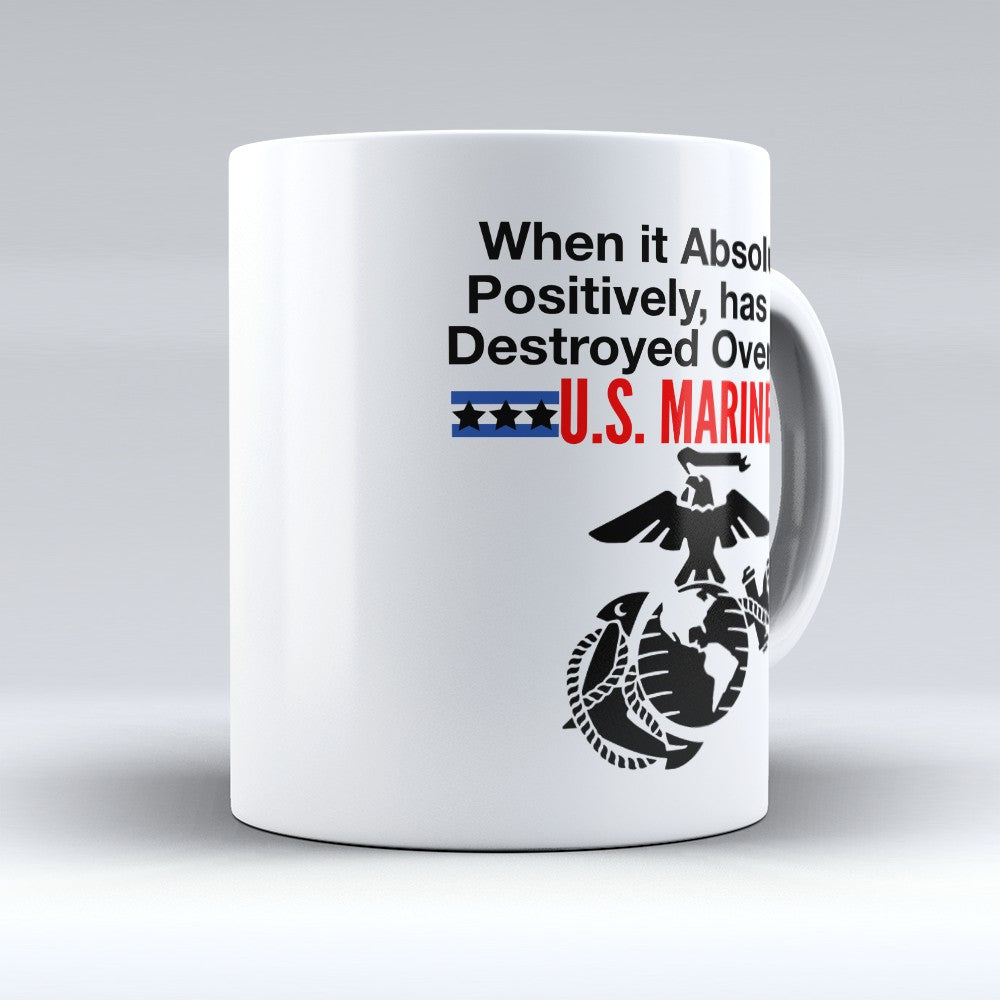 "Limited Edition - ""Destroyed Overnight"" 11oz Mug"