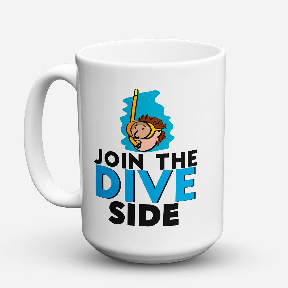 "Limited Edition - ""Dive Side"" 15oz Mug"