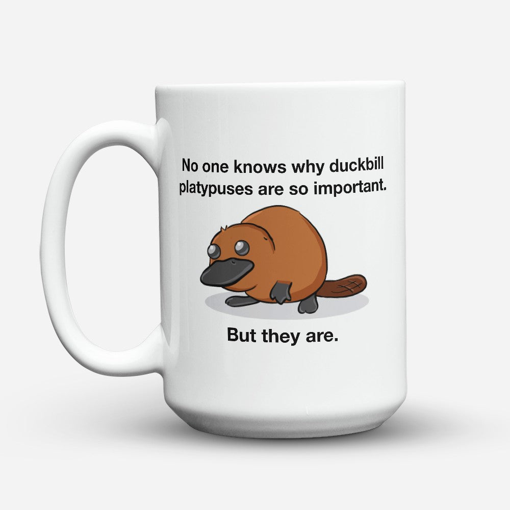 "Limited Edition - ""Duckbill Platypuses"" 15oz Mug"