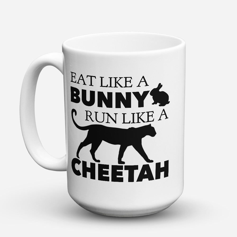 "Limited Edition - ""Eat Like A Bunny"" 15oz Mug"