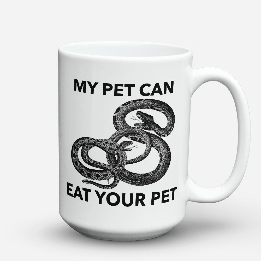 "Limited Edition - ""Eat Your Pet"" 15oz Mug"