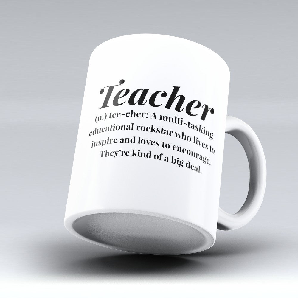 "Limited Edition - ""Educational Rockstar"" 11oz Mug"