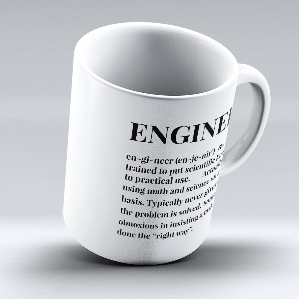 "Limited Edition - ""Engineer Definition"" 11oz Mug"