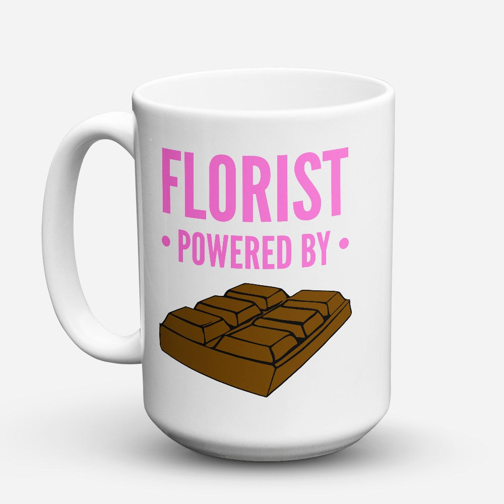 "Limited Edition - ""Florist Powered By"" 15oz Mug"
