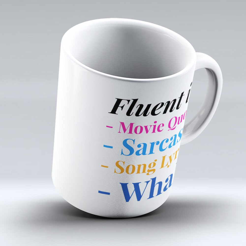 "Limited Edition - ""Fluent In Whale"" 11oz Mug"