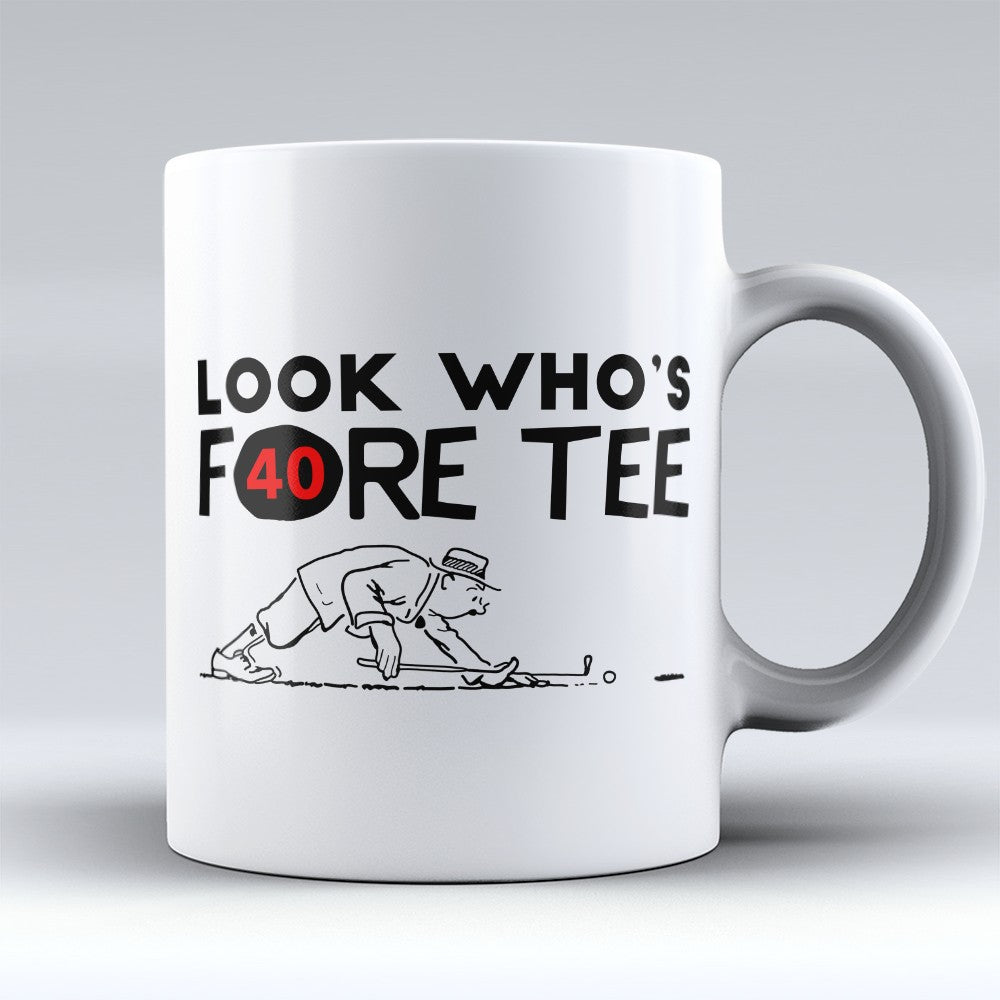 "Limited Edition - ""Fore Tee"" 11oz Mug"