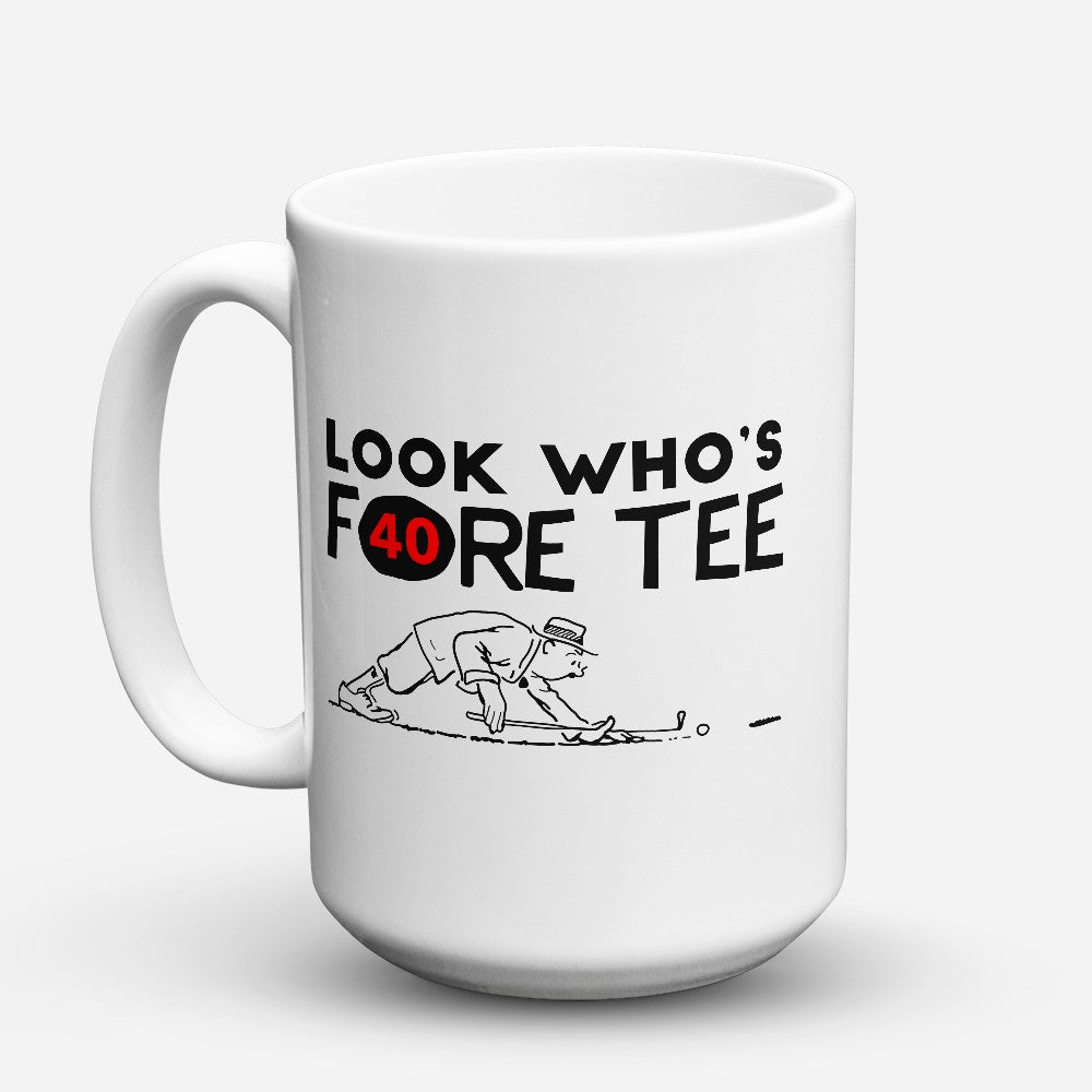 "Limited Edition - ""Fore Tee"" 15oz Mug"