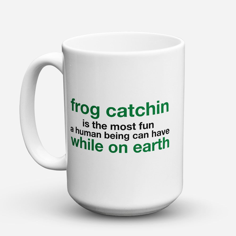 "Limited Edition - ""Frog Catchin"" 15oz Mug"