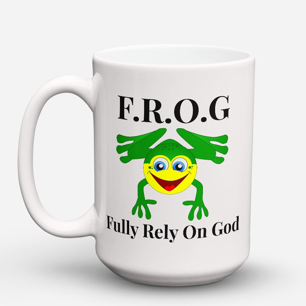 "Limited Edition - ""Fully Rely On God"" 15oz Mug"