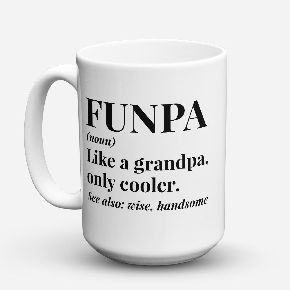 "Limited Edition - ""Funpa"" 15oz Mug"