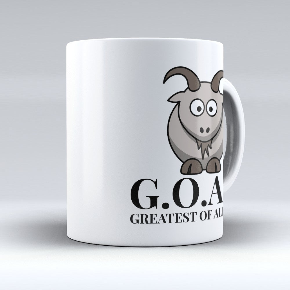 "Limited Edition - ""G.O.A.T"" - Premium 11oz Mug"