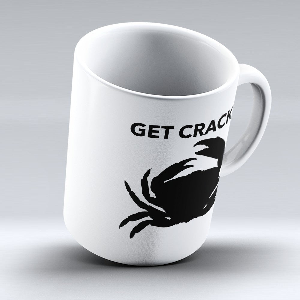 "Limited Edition - ""Get Crackin"" 11oz Mug"
