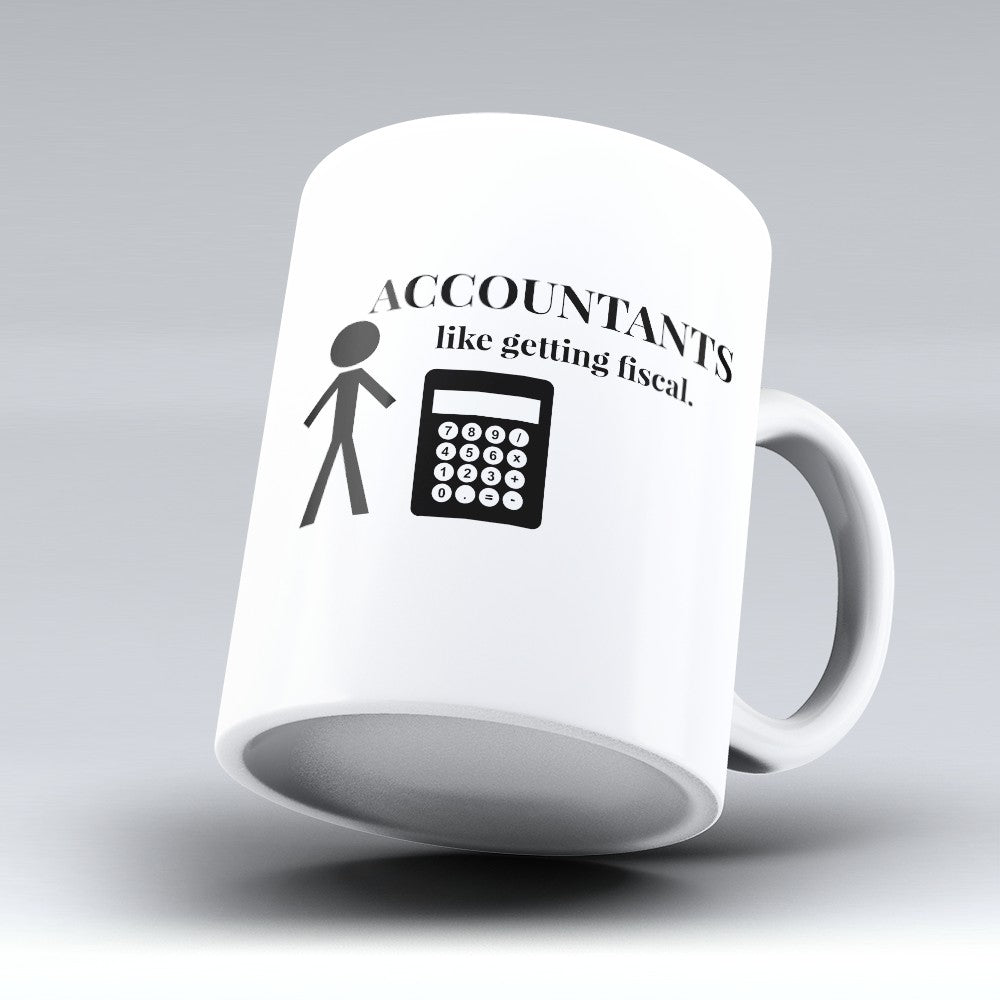 "Limited Edition - ""Getting Fiscal"" 11oz Mug"