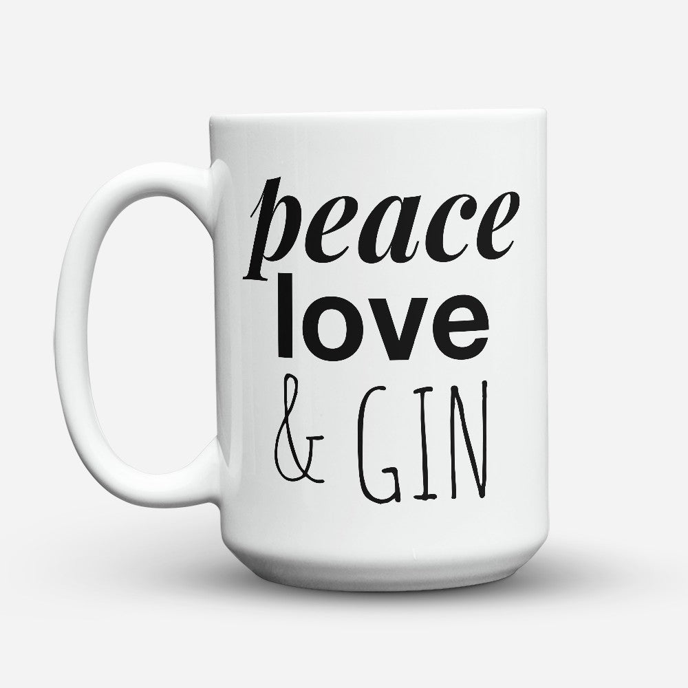 "Limited Edition - ""Gin"" 15oz Mug"