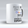 Custom Design - 47 Years of Legal Experience - Drinkware - Mugdom Coffee Mugs