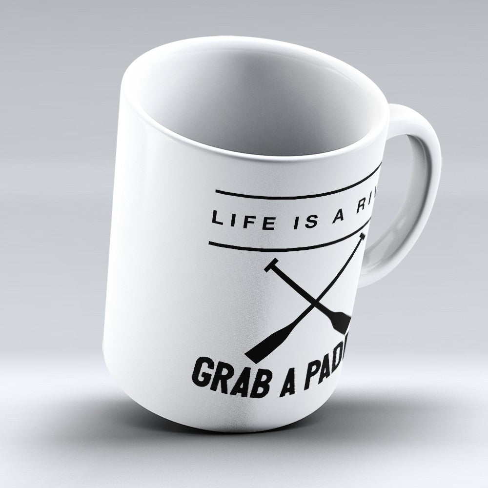 "Limited Edition - ""Grab A Paddle"" 11oz Mug"