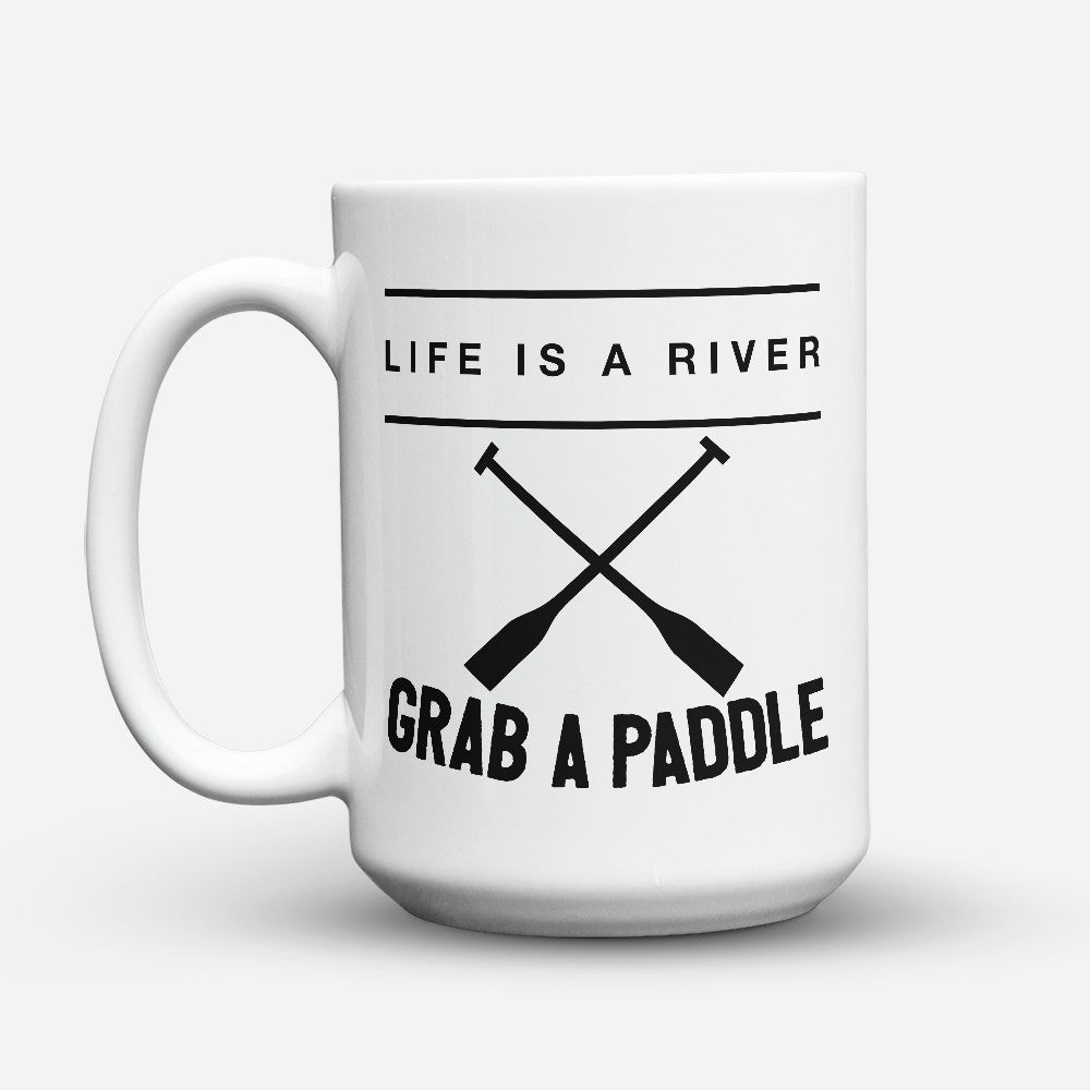 "Limited Edition - ""Grab A Paddle"" 15oz Mug"