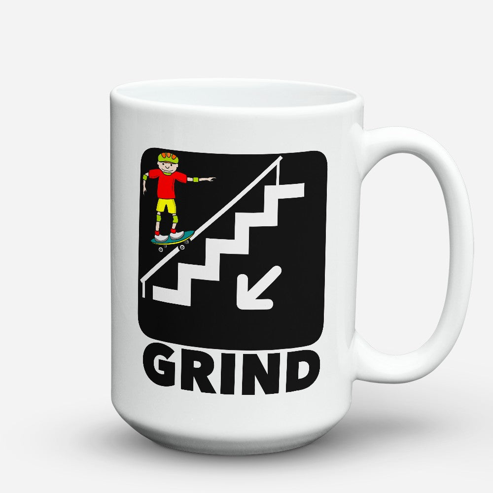 "Limited Edition - ""Grind"" 15oz Mug"