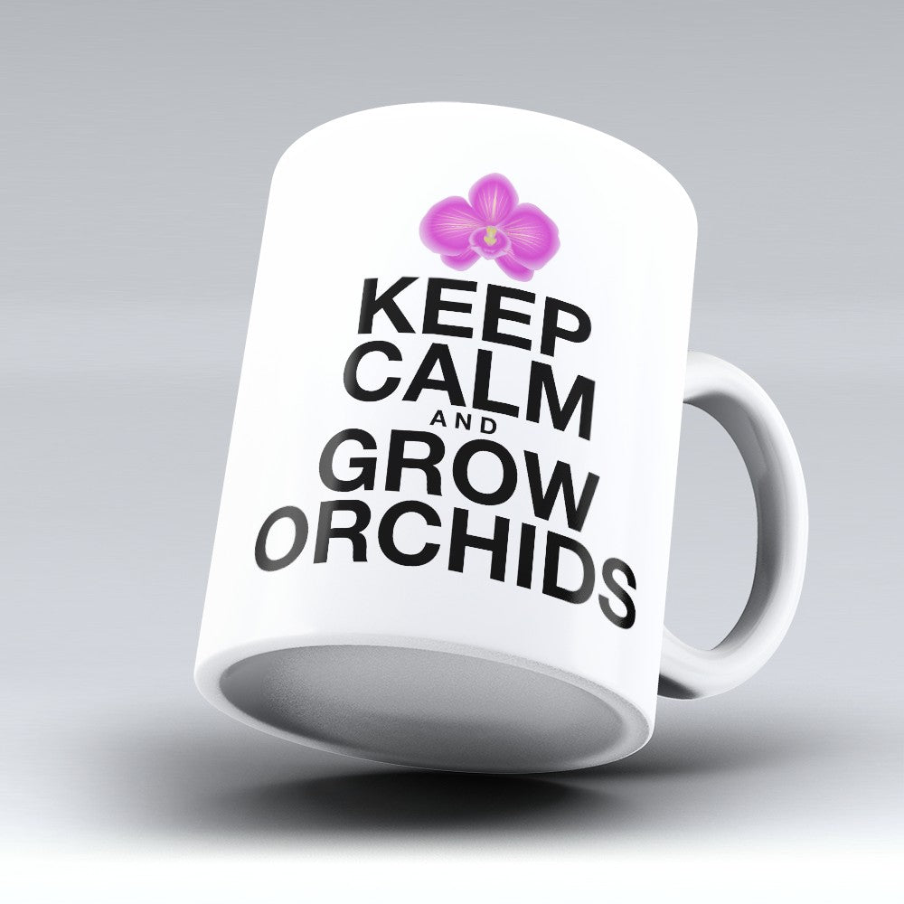 "Limited Edition - ""Grow Orchids"" 11oz Mug"