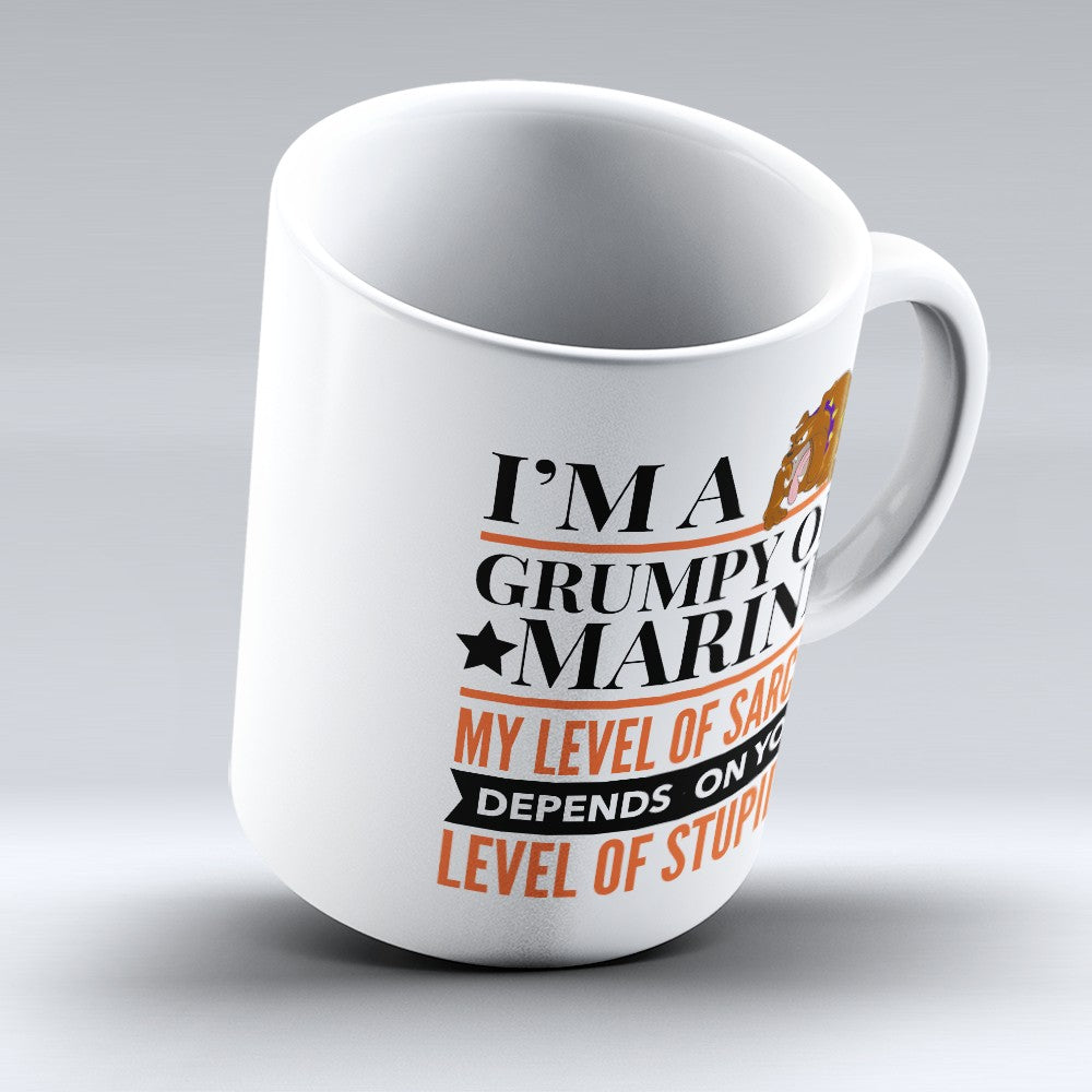 "Limited Edition - ""Grumpy Old Marine"" 11oz Mug"