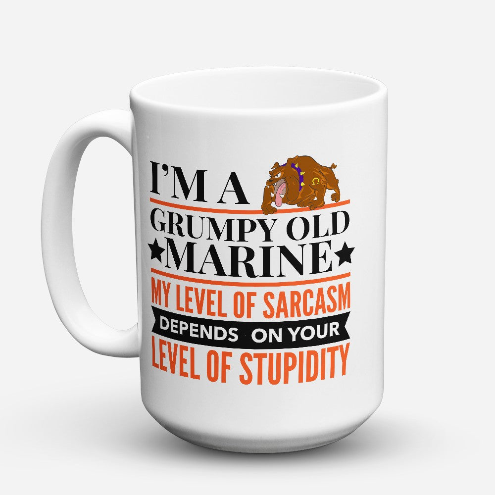 "Limited Edition - ""Grumpy Old Marine"" 15oz Mug"