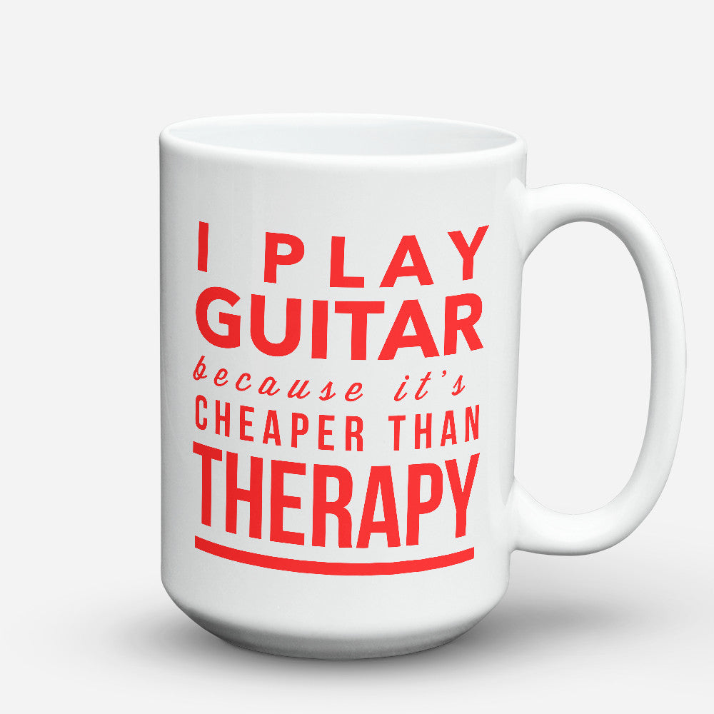 "Limited Edition - ""Therapy"" 15oz Mug"