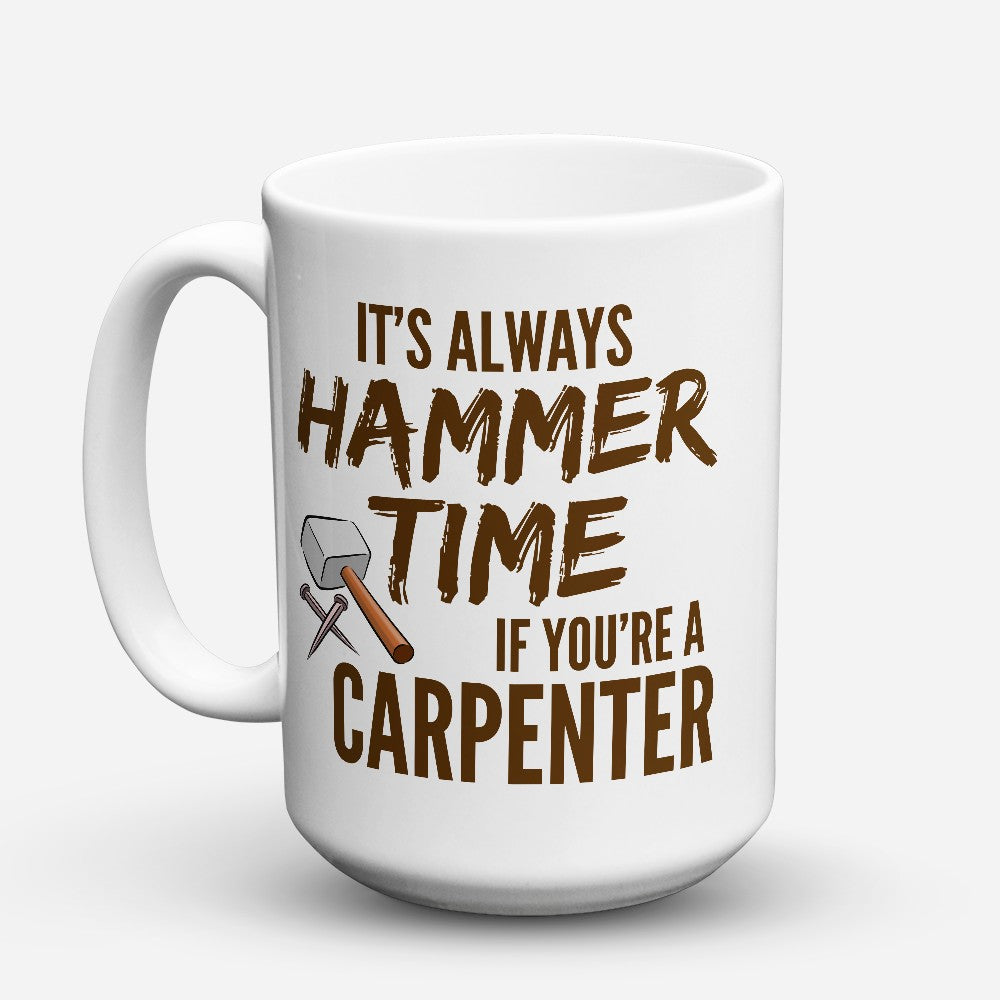 "Limited Edition - ""Hammer Time"" 15oz Mug"
