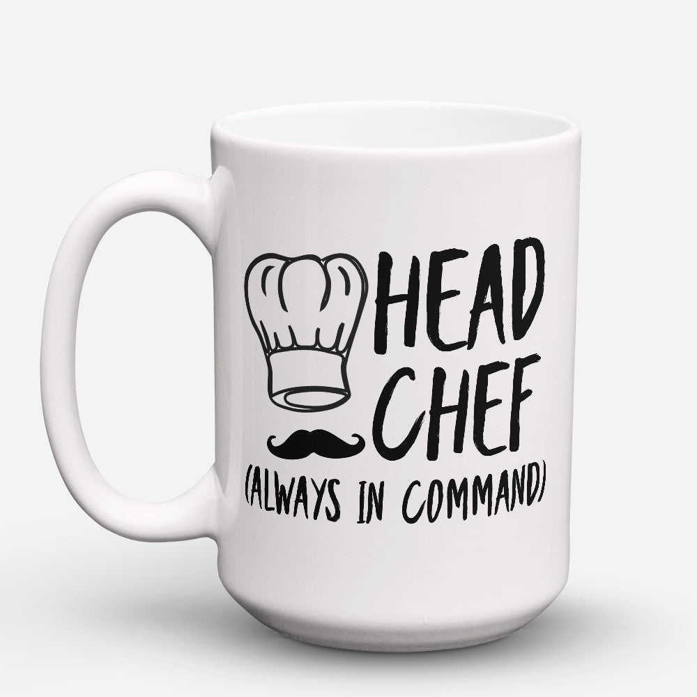 "Limited Edition - ""Head Chef"" 15oz Mug"