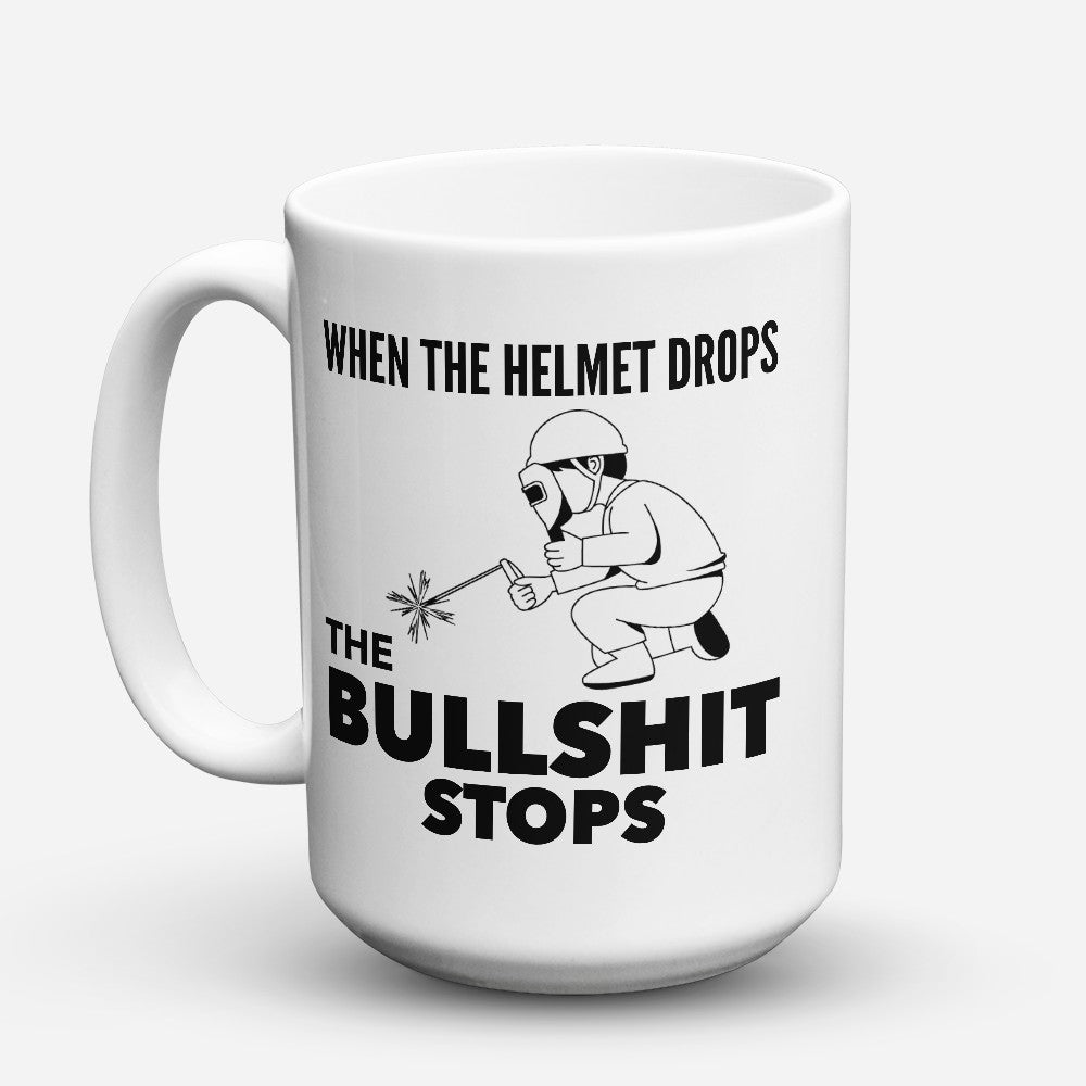 "Limited Edition - ""Helmet Drops"" 15oz Mug"