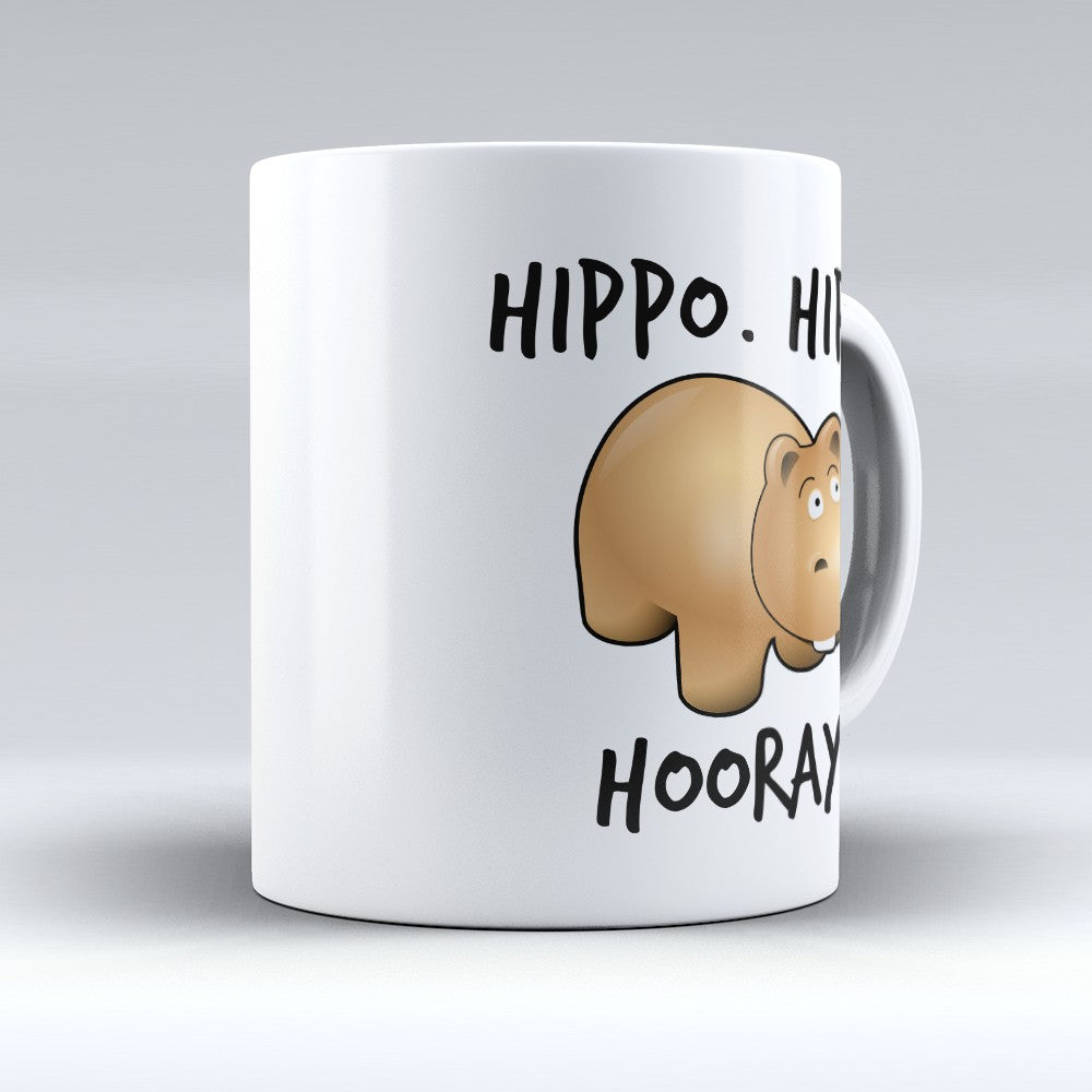 "Limited Edition - ""Hippo Hippo Hooray"" 11oz Mug"