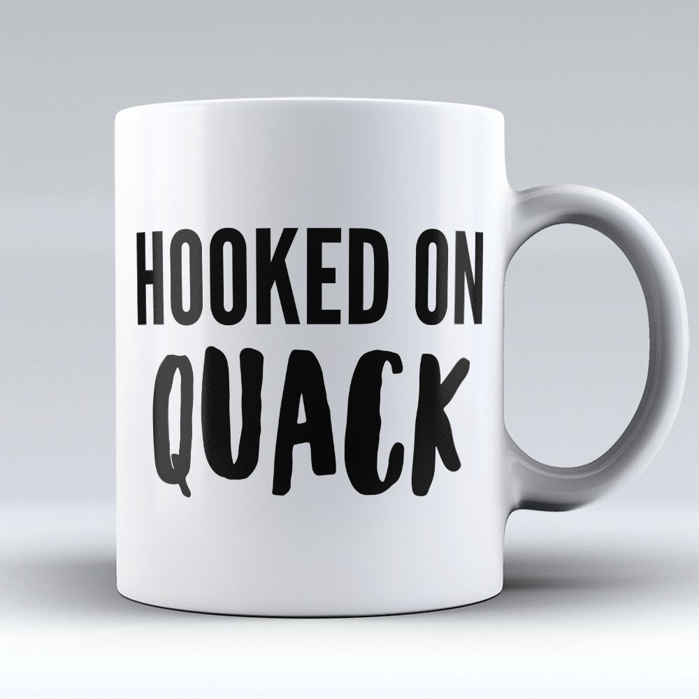 "Limited Edition - ""Hooked On Quack"" 11oz Mug"
