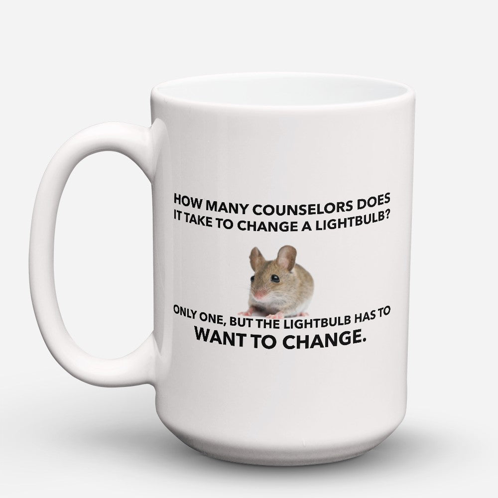 "Limited Edition - ""Counselor Lightbulb"" 15oz Mug"