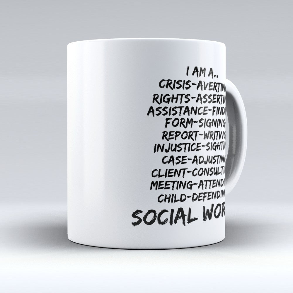 "Limited Edition - ""I Am A Crisis - Averting"" 11oz Mug"