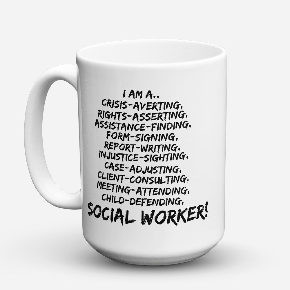 "Limited Edition - ""I Am A Crisis - Averting"" 15oz Mug"