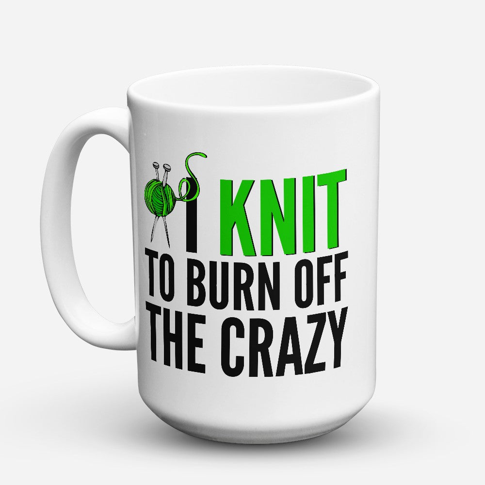 "Limited Edition - ""I Knit"" 15oz Mug"