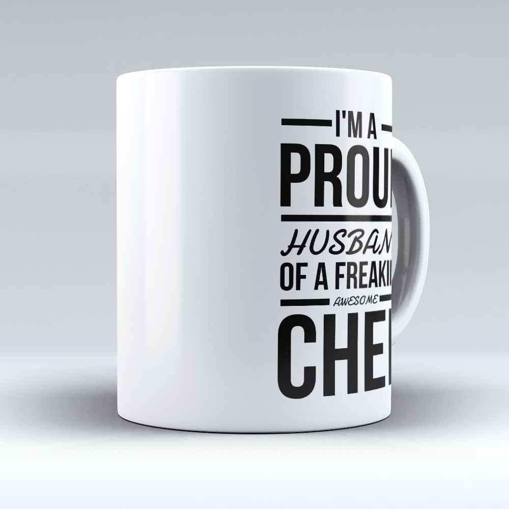 "Limited Edition - ""I'm A Proud Husband"" 11oz Mug - Chef Mugs - Mugdom Coffee Mugs"