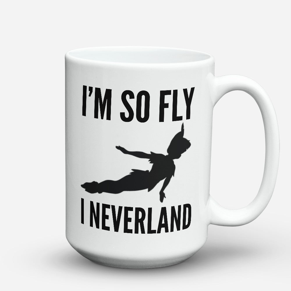 "Limited Edition - ""I Neverland"" 15oz Mug"