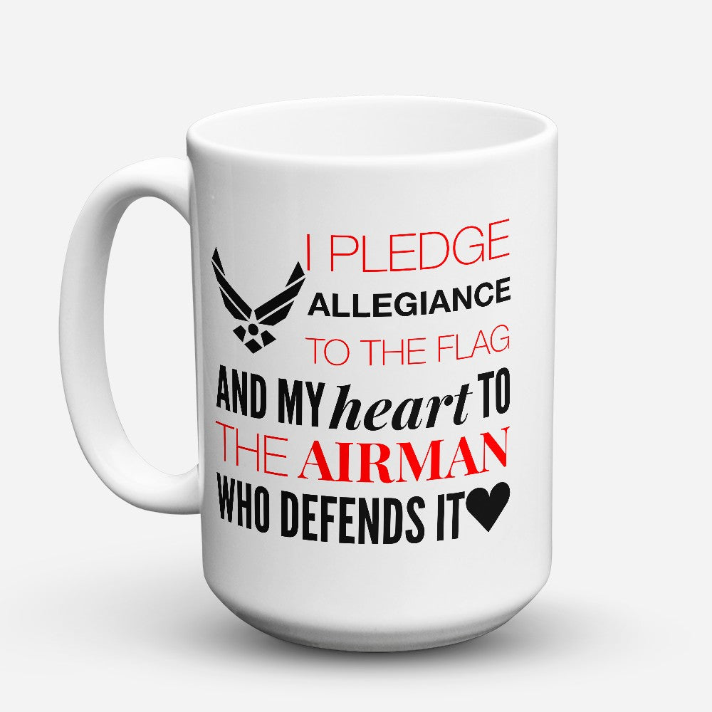 "Limited Edition - ""I Pledge"" 15oz Mug"