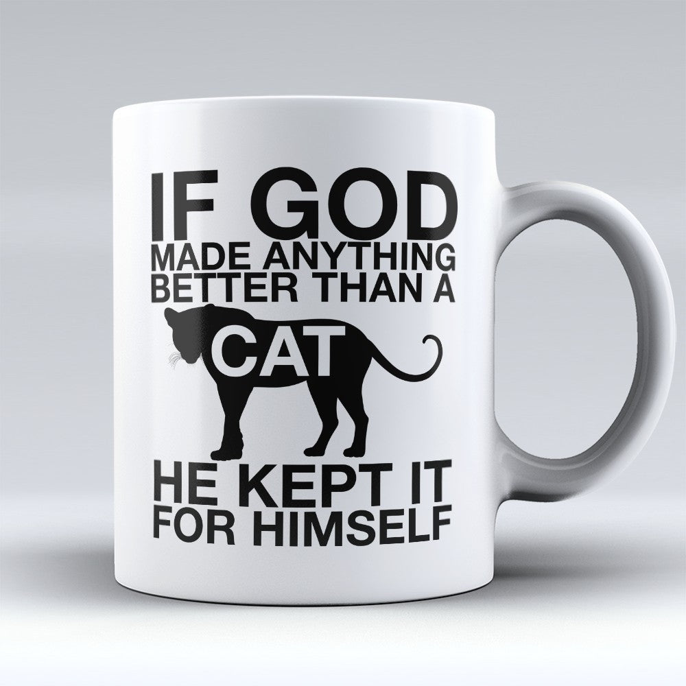"Limited Edition - ""If God"" 11oz Mug"