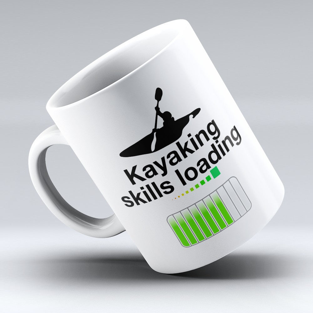 "Limited Edition - ""Kayaking Skills Loading"" 11oz Mug"