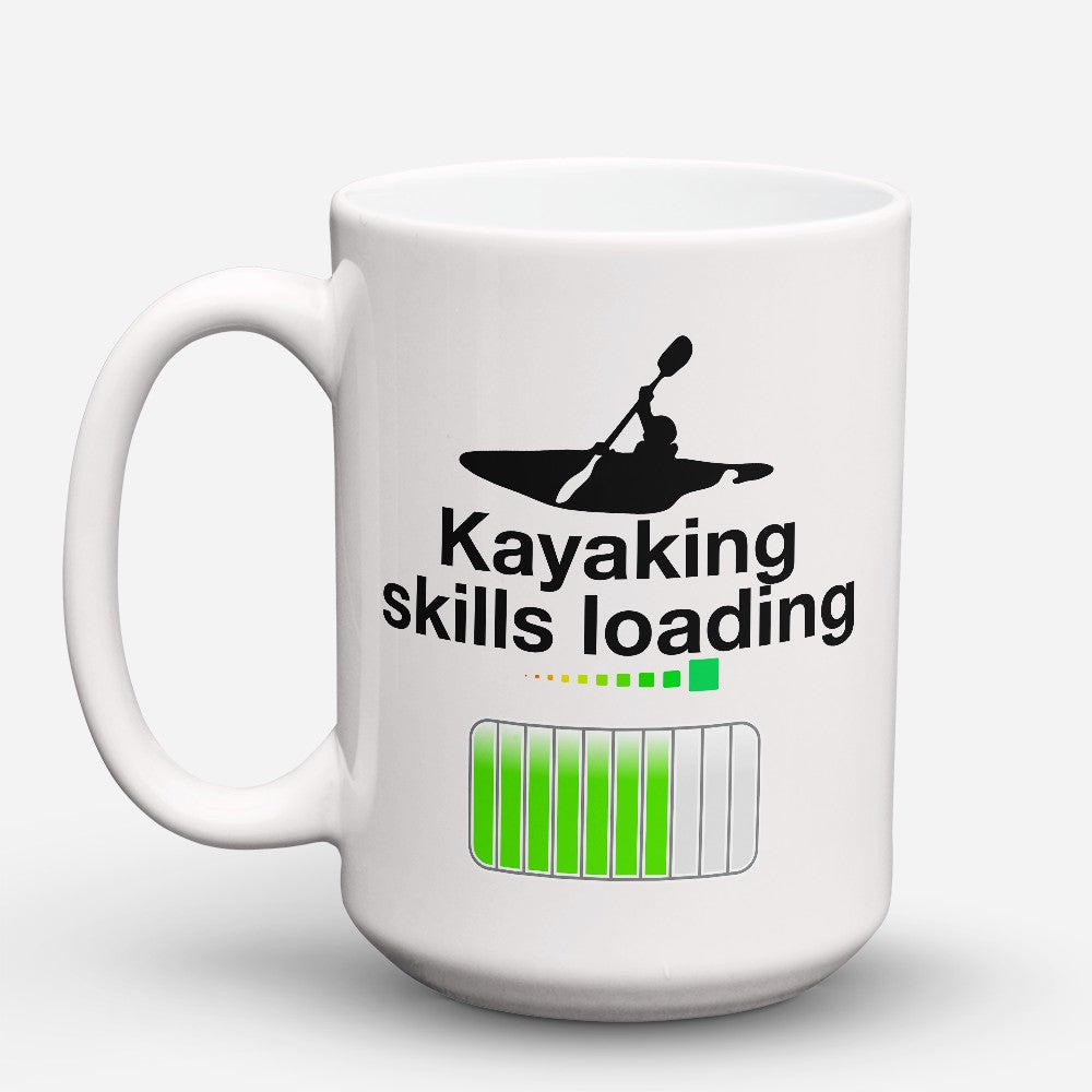 "Limited Edition - ""Kayaking Skills Loading"" 15oz Mug"