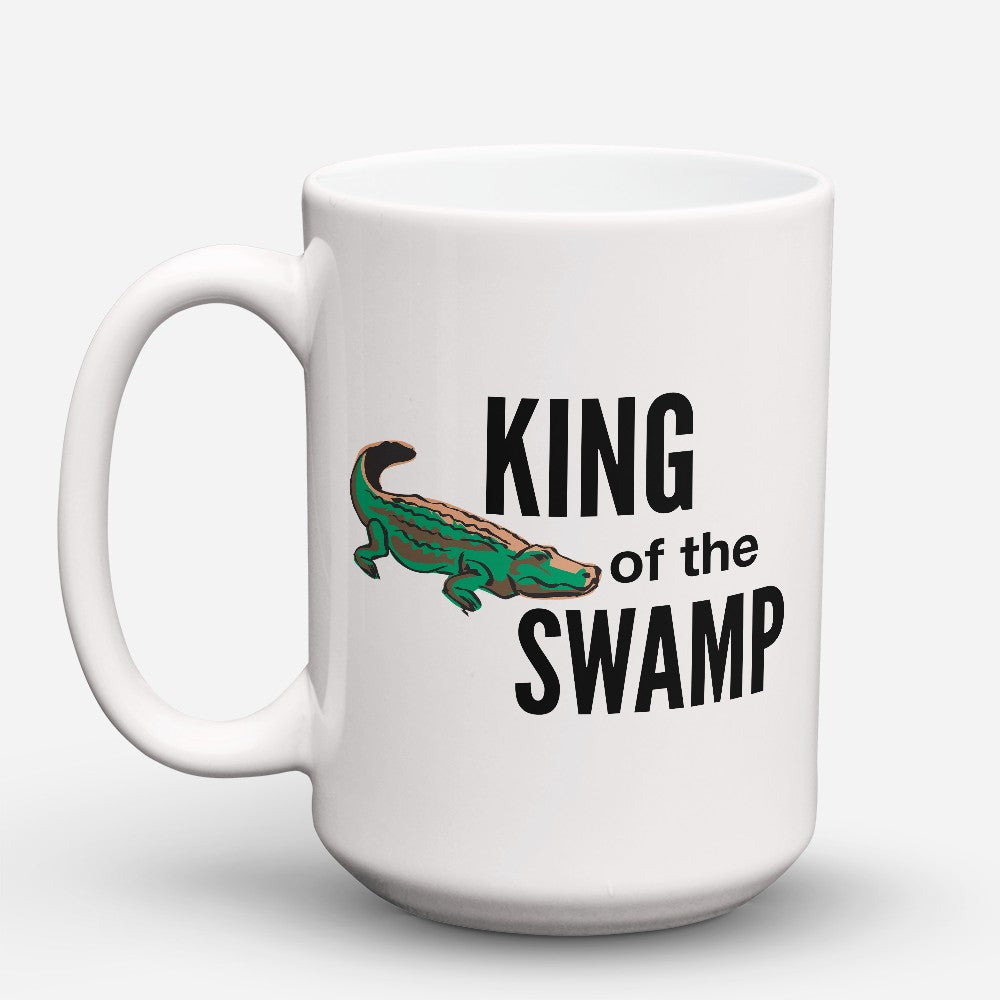 "Limited Edition - ""King Of The Swamp"" 15oz Mug"