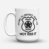 "Limited Edition - ""Sworn to Protect"" 15oz Mug - Policeman Mugs - Mugdom Coffee Mugs"