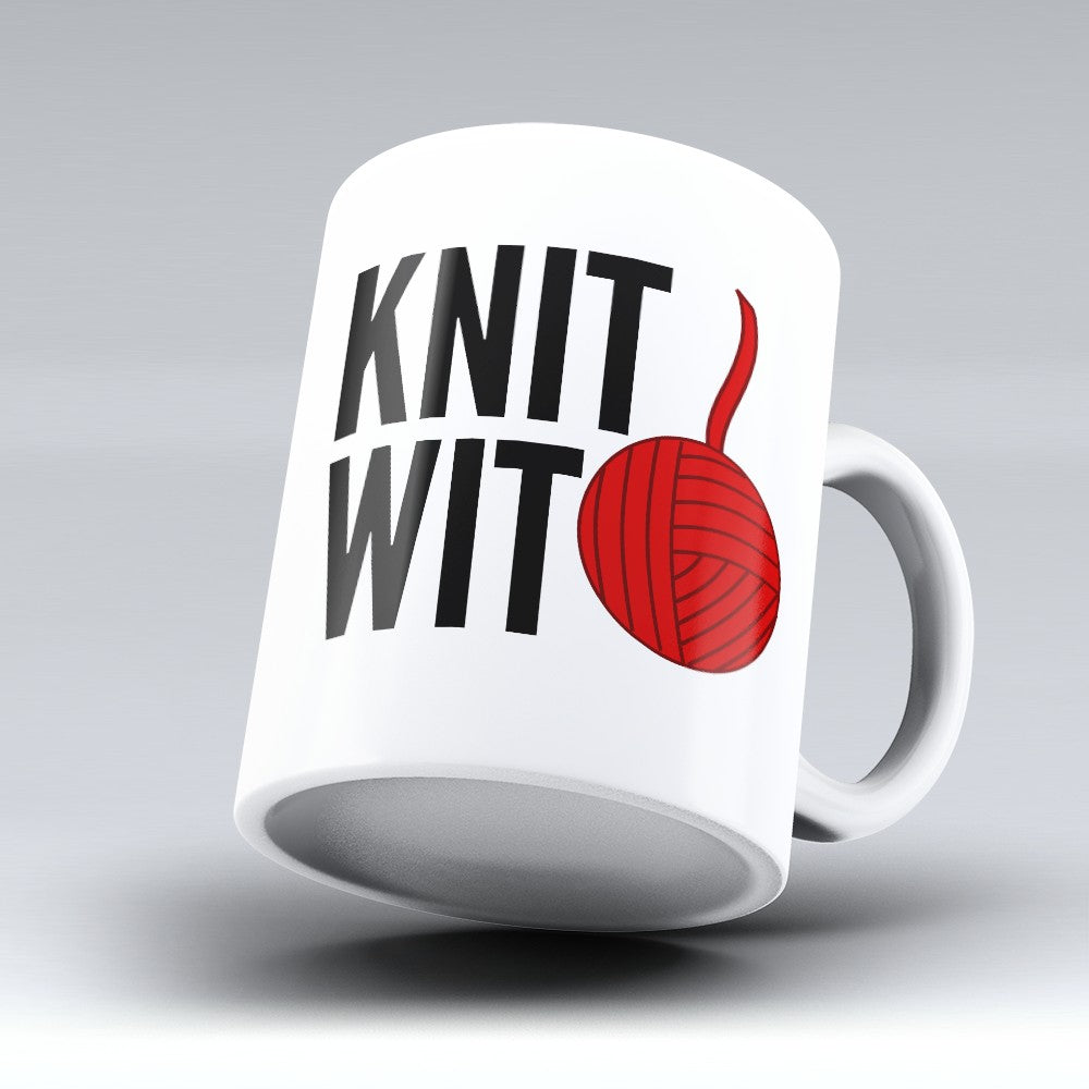 "Limited Edition - ""Knit Wit"" 11oz Mug"
